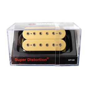 DiMarzio DP100 Super Distortion Humbucker Guitar Pickup - CREAM
