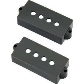 Genuine Fender Original '57'/'62 P Precision Bass Pickup Covers Set - BLACK