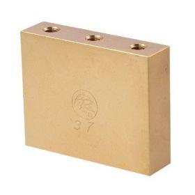 Genuine Floyd Rose FROFTB37 Original Fat Brass Tremolo Upgrade Block, 37mm