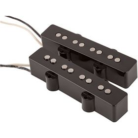 Fender Custom Shop '60s Jazz Bass Pickup Set - Black - 099-2101-000
