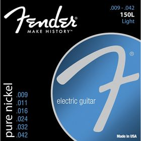 Fender 150L Pure Nickel Electric Guitar Strings Set - LIGHT 9-42
