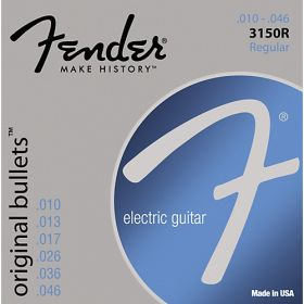 Fender 3150R Original Bullets Electric Guitar Strings Set - REGULAR 10-46