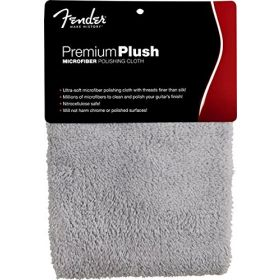 Genuine Fender Premium Plush Microfiber Guitar Polishing Cloth - 099-0525-000