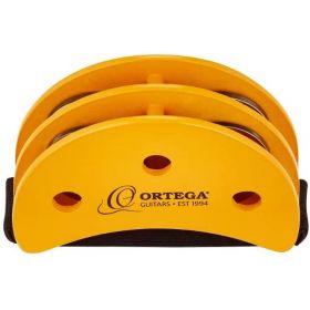 Ortega Guitars Percussive Foot Tambourine, OGFT