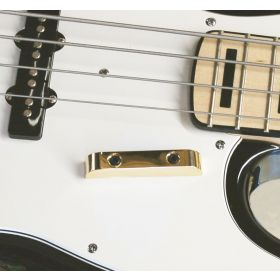 Hipshot 7T000G Thumbrest for Fender Precision/Jazz Bass - GOLD with Screws