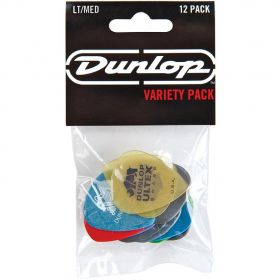Dunlop PVP101 Variety Players Pack - Light/Medium - 12 GUITAR PICKS