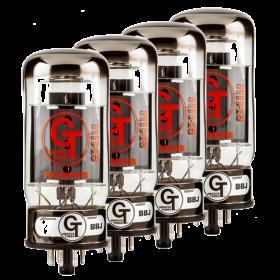 Groove Tubes Gold GT-6550-R Matched Power Tube Medium (4-7 GT Rating) QUARTET