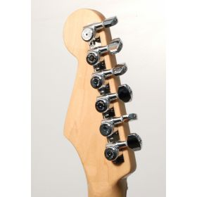 Hipshot CHROME 6-InLine Grip-Lock Non-Staggered Closed Guitar Tuners w/ UMP Kit