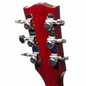 Hipshot CHROME 3+3 GripLock Closed-Gear Locking Guitar Machines 3x3 Tuners w/UMP