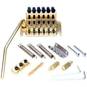 Floyd Rose FRTS3000 Special Series Tremolo Bridge System w/R2 Locking Nut - GOLD