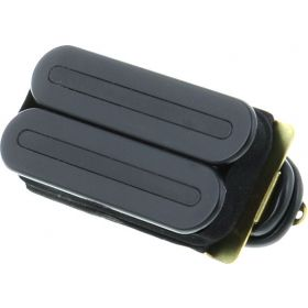 DiMarzio DP102 X2N F-Spaced Humbucker Guitar Bridge Pickup - BLACK