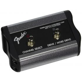 Fender 2-Button Channel/Gain/More Gain Amplifier Amp Footswitch - 099-4062-000