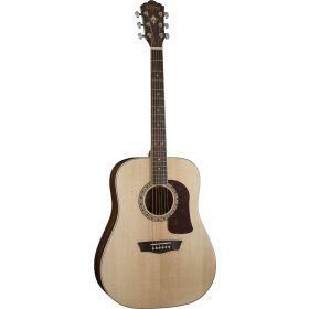 Washburn HD10S Heritage Series Dreadnought Acoustic Guitar - Natural Gloss