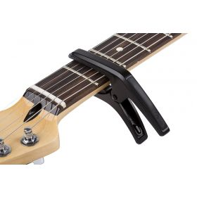 Genuine Fender PHOENIX Acoustic or Electric 6-String Spring Guitar Capo - BLACK