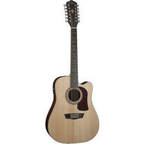 Washburn HD10SCE12 Heritage Series 12-String Cutaway Acoustic-Electric Guitar