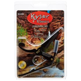 Kyser Quick-Change 6-String Acoustic or Electric Guitar DROP-D Capo (KGDB)