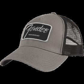 Genuine Fender Guitars Paramount Series Logo Hat/Cap, Black and Charcoal