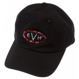 EVH Eddie Van Halen Logo Baseball Hat Cap, Black