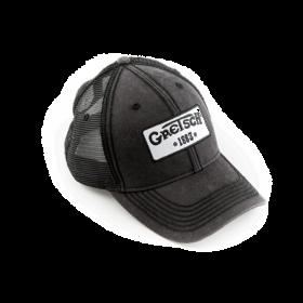 Genuine Gretsch Guitars Black Trucker Hat, 1883 Logo