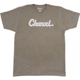 Charvel Guitars Toothpaste Logo T-Shirt, Heather Green, M, MEDIUM 992-8724-506