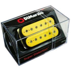 DiMarzio DP100 Super Distortion Humbucker Guitar Pickup - YELLOW - DP100Y