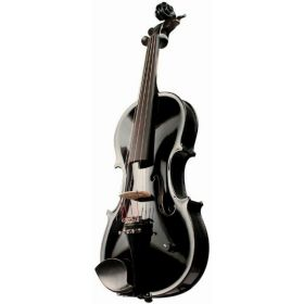 Barcus-Berry Vibrato-AE Acoustic-Electric Violin Outfit w/ Case - Black