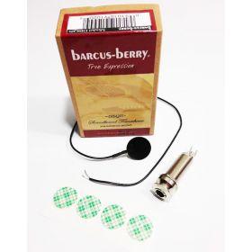 Barcus-Berry DISQIS Soundboard Acoustic Guitar Pickup w/ Internal Mount Jack