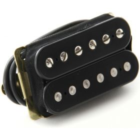 "DiMarzio DP155F ""The Tone Zone"" F-Spaced Humbucker Guitar Bridge Pickup - BLACK"