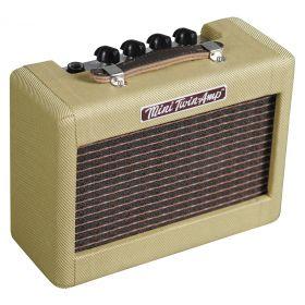 Fender 57' Twin Mini Portable Tweed Electric Guitar Amplifier Amp