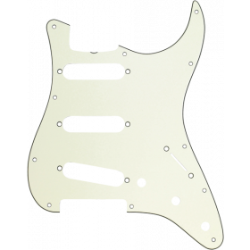 Genuine Fender 62 Stratocaster/Strat S/S/S 11-Hole Guitar Pickguard - MINT GREEN