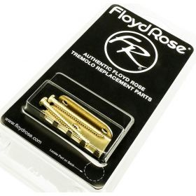 Genuine Floyd Rose BRASS Tremolo Tension Spring Claw with Screws - FRTCBRASS
