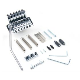 Floyd Rose Original FRT100 Tremolo Bridge System Kit with R2 Nut - CHROME