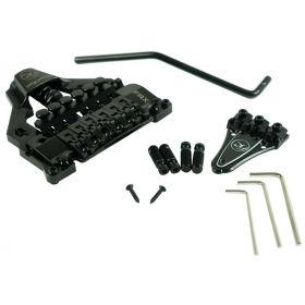 Floyd Rose FRTX02000 FRX Surface-Mount Tremolo Bridge System Kit w/ Nut - BLACK
