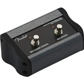 Genuine Fender 2-Button Footswitch fpr Acoustasonic Ultralight Amp, 006-4673-049