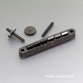 Gotoh GE104B ABR-1 Tune-O-Matic Bridge, Cosmo Black Chrome, GE104B-CK