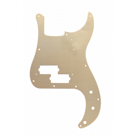 Genuine Fender 57' 58' Precision/P-Bass 10-Hole Vintage Pickguard, GOLD ANODIZED
