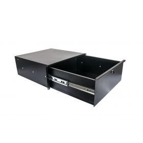 OSP 4-Space 4U DEEP Metal Rack Gear Case Steel Drawer (HYC-4UD)