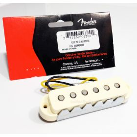 Genuine Fender '62 USA Aged White Jaguar Bridge Guitar Pickup - 005-4494-049