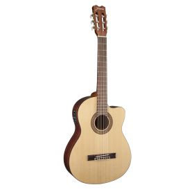 Jasmine by Takamine JC25CE-NAT Acoustic-Electric Cutaway Classical Guitar