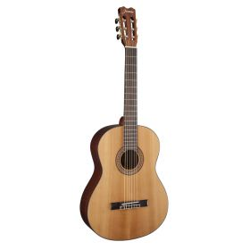 Jasmine by Takamine JC25CE-NAT J-Series Nylon-String Solid Top Classical Guitar