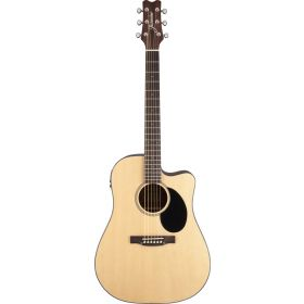 Jasmine by Takamine JD36CE-NAT Dreadnought Acoustic-Electric Cutaway Guitar