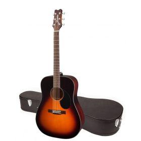 Jasmine by Takamine JD39-SB Sunburst Dreadnought Acoustic Guitar with CASE