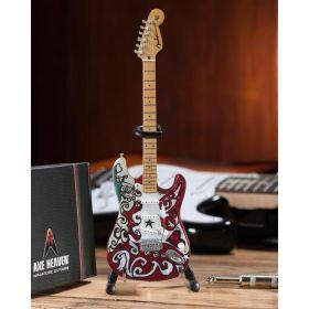 AXE HEAVEN Official Jimi Hendrix Fender Strat Saville Miniature Guitar Display Gift