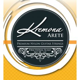 Kremona Arete Premium Acoustic Nylon Guitar Strings Fractional Scale Set 58-62