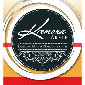Kremona Arete Premium Nylon Guitar Strings Negro Agudo Flamenco String Set
