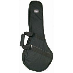 MBT Padded Carry Case Gig Bag for Mandolin - Black - MBTMANBG