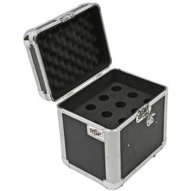 OSP ATA 12-Slot Space Microphone ATA Road Flight Tour Travel Mics Case