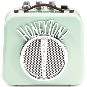 Danelectro N10 Honey-Tone Mini/Portable/Travel Guitar Amplifier/Amp - Aqua