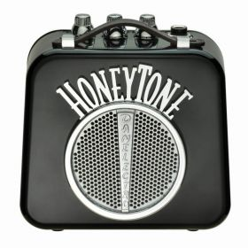 Danelectro N10 Honey-Tone Mini/Portable/Travel Guitar Amplifier/Amp - Black