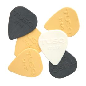 Graph Tech TUSQ (6-Pack) Standard Guitar Picks, Mixed Pack, PQP-0010-ST